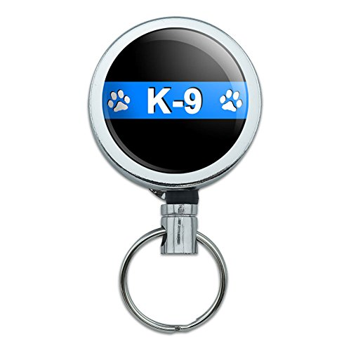 Metal Retractable Badge Holder Police
