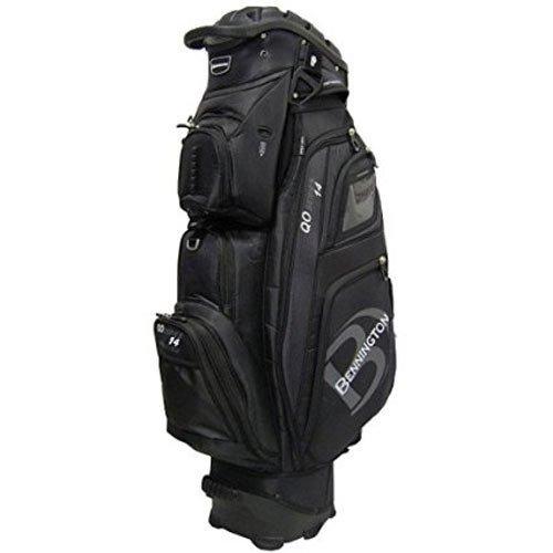 Bennington QO-14 Quiet Organizer Golf Cart Bag - Black