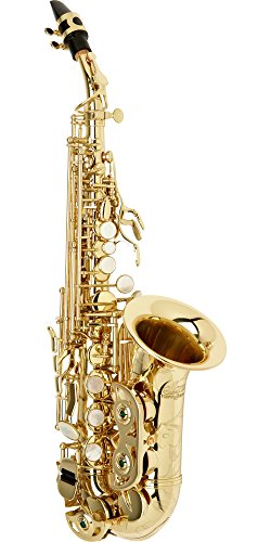 Allora Vienna Series Intermediate Curved Soprano Saxophone AASC-503 - Lacquer ()