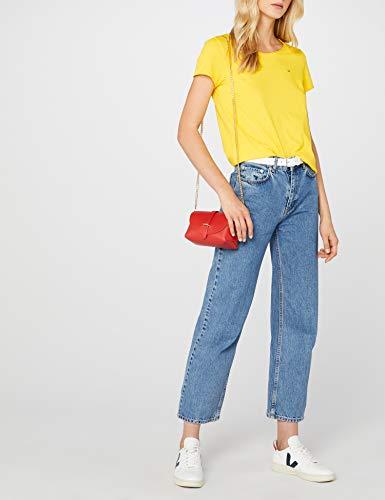 T Femme dandelion Jersey shirt Jeans Jaune Tommy Soft 706 f5tqwIxw0
