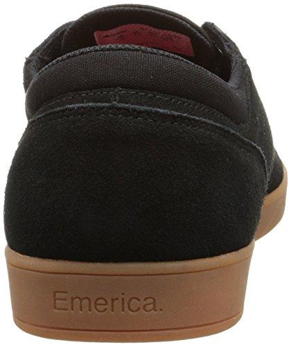 Emerica The Figueroa, Scarpe da Skateboard da Uomo Nero (Black/Gum/964)