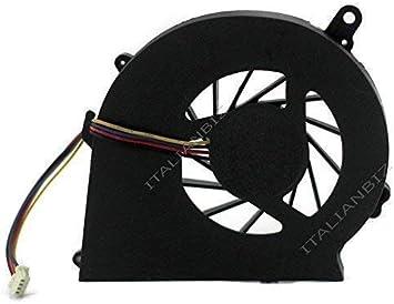 Italianbiz Ventilador Ventilador CPU Compatible con hp 650 655 ...