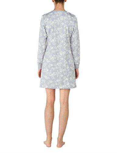 Calida Big Shirt Montrose, Camisón para Mujer Grau (stein meliert 096)