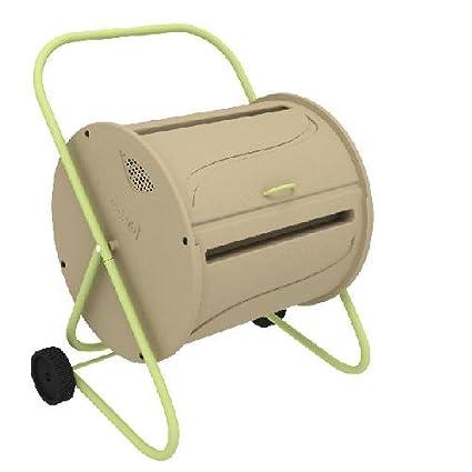 Compostador rotativo: para acelerar el proceso de compost.