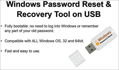 Wachtwoord opnieuw instellen / herstellen / ontgrendelen Tool voor ALLE Windows op opstartbare USB