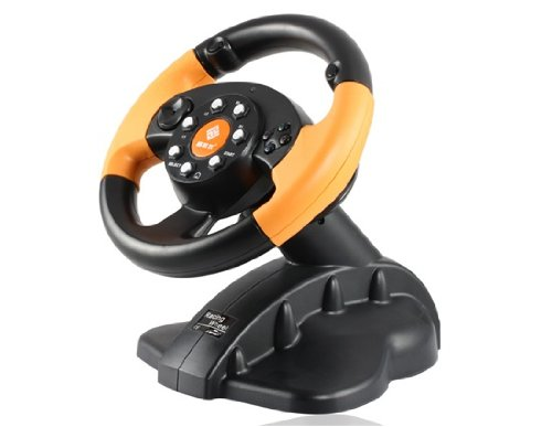 GameMon FT33C2 Game Console Steering Wheel with