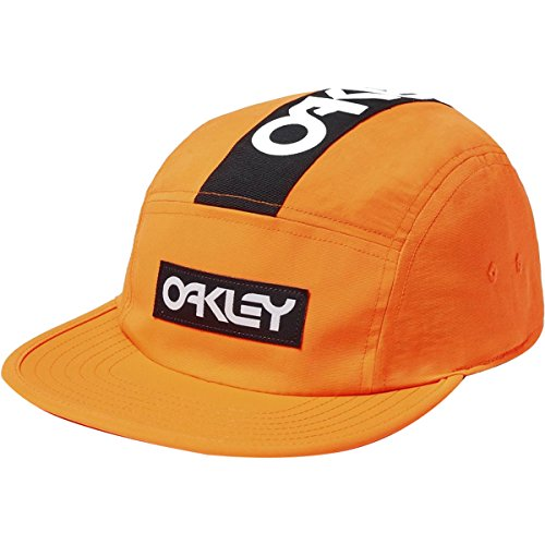 Oakley Men's 5 Panel Frogskin Hat, neon Orange, One, used for sale  Delivered anywhere in USA