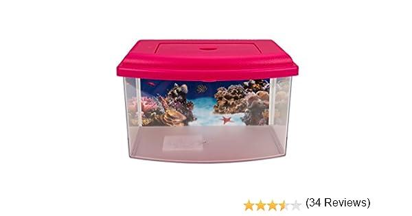 colores surtidos Aim/é Aquarium Plastic Aquarium 1 Unidad