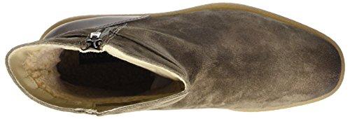 Marc OPolo Damen Flat Heel Bootie 70914296001304 Schlupfstiefel Braun (Taupe)