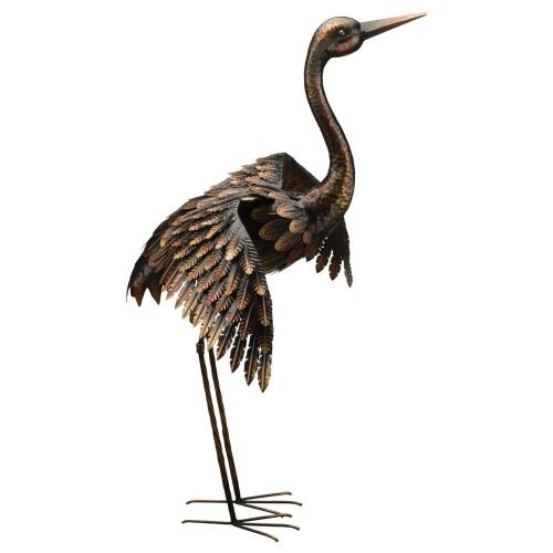 Regal Art & Gift Crane, 41'', Bronze