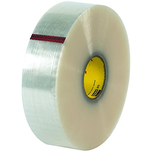 Partners Brand PT9033372 3M 372 Carton Sealing Tape, 1000 yd. Length, 3
