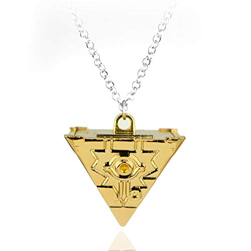 FITIONS - 3D Yu-Gi-Oh Necklace Anime Yugioh Millenium Pendant Jewelry Toy Yu Gi Oh Cosplay Pyramid Egyptian Eye Of Horus Necklace