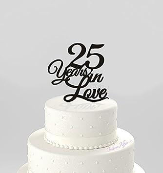Anniversaire De Mariage Pour Gâteau 25 Ans En Amour