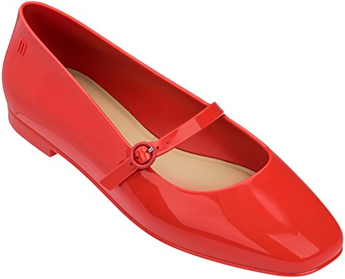Melissa Womens Believe Mary Jane, Red, Size 7