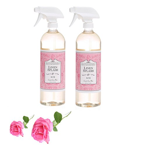 Scentennials Linen & Room Spray Rose 32oz (2-Pack) - A Must Have for All Your linens, Laundry Basket or just Spray Around The House.