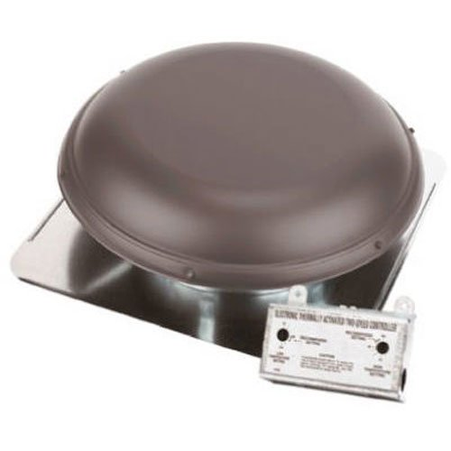 AIR VENT 53832 Roof Mounted Power Attic ()