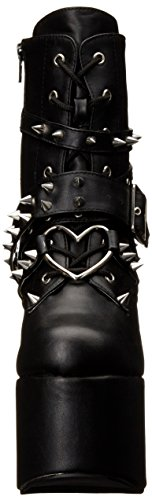 Pleaser Torment 700, Stivali Donna Nero (Black (Blk Vegan Leather))