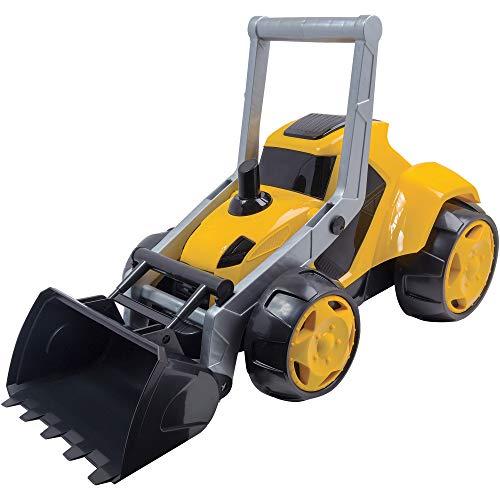 Trator Mega Z3 Infantil BS Toys Amarelo