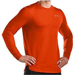 Men's UA Evo ColdGear® Fitted Crew Tops by Under Armour