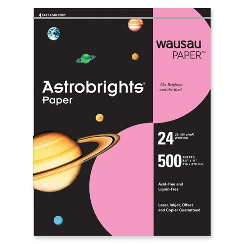 Wausau Paper Astrobrights Colored Papers by Wausau