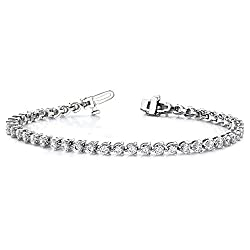 White Gold VS Diamond Tennis Bracelet