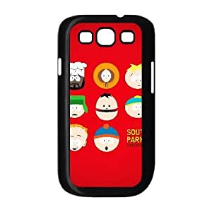 Generic for Samsung Galaxy S3 9300 Cell Phone Case Black South Park Custom HLFDKFFKD3667