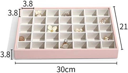 [スポンサー プロダクト]Vlando 小物入れDIY複層アクセサリー収納トレー ピアス指輪リングネックレスイヤリング かわいいピンク おしゃれ 積み重ねる大容量引き出し 取り外せるシンプルセット アクセサリージュエリーケース