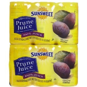 Sunsweet Juice Sunsweet Prune, 5.5-ounce Canisters (Pack of 24)