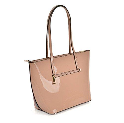 bags Decoration Ladies bag Tote Shopper handbags apricot women Shoulder Butterfly for Patent Goodies Designer Bag Grace PVC St0wvxqt