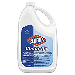 Clorox 35420CT Clean-Up Disinfectant Cleaner with Bleach, Fresh, 128 oz Refill Bottle (Case of 4)