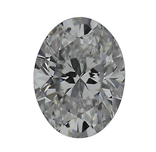 Oval Si1 Diamonds Loose (GIA Certified Oval Cut Natural Loose Diamond 3 Carat H Color SI1 Clarity - 3 Ct)