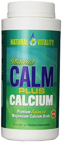 Natural Vitality Natural Calm Plus Calcium - 16 oz (Pack of 3)