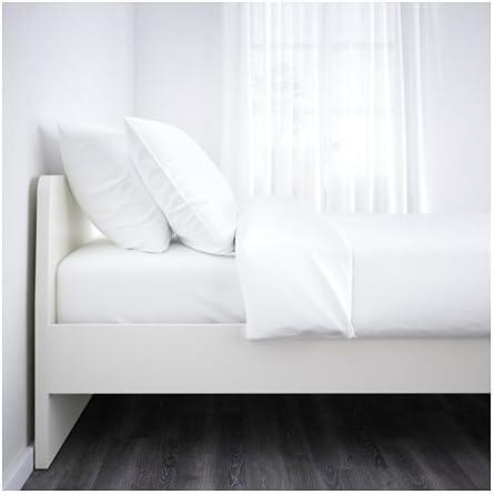 Ikea Queen 38382.11214.182 - Marco de Cama, Color Blanco y ...