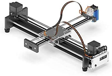 2 ejes DIY CNC XY Plotter Pen Desktop Drawing Robotics Alta precisión Car Painting Writing Robot Kit CNC Milling Router 2500MW: Amazon.es: Oficina y papelería