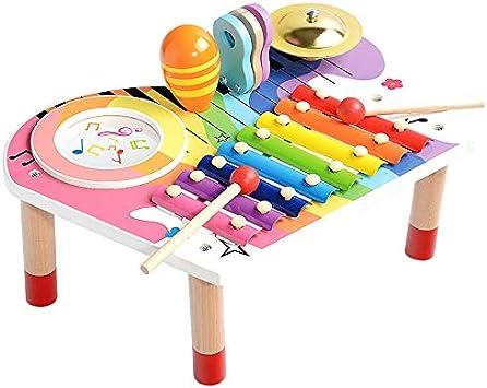 BeebeeRun Conjunto de Instrumentos Musicales para Bebés ...