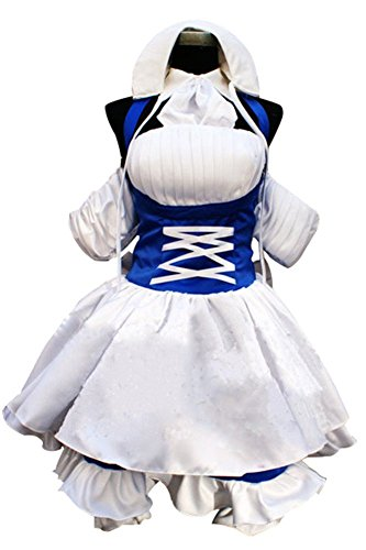 Mtxc Women's Chobits Cosplay Costume Chi Working Dress