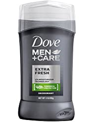 Dove Men+Care Deodorant Stick, Extra Fresh 48 Hour Protection...