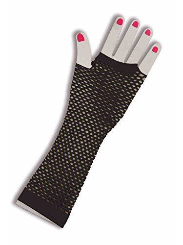 (Forum Novelties Unisex-Adult's Fishnet Fingerles Gloves,)