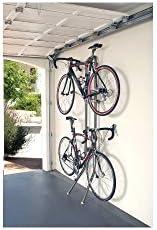 Delta Rugged Michelangelo Gravity Stand Bike Storage Rack Holds Two Bikes