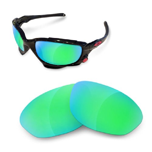 Sunglasses Restorer Polarized Sapphire Green Replacement Lenses for Oakley - Green Jawbone Oakley