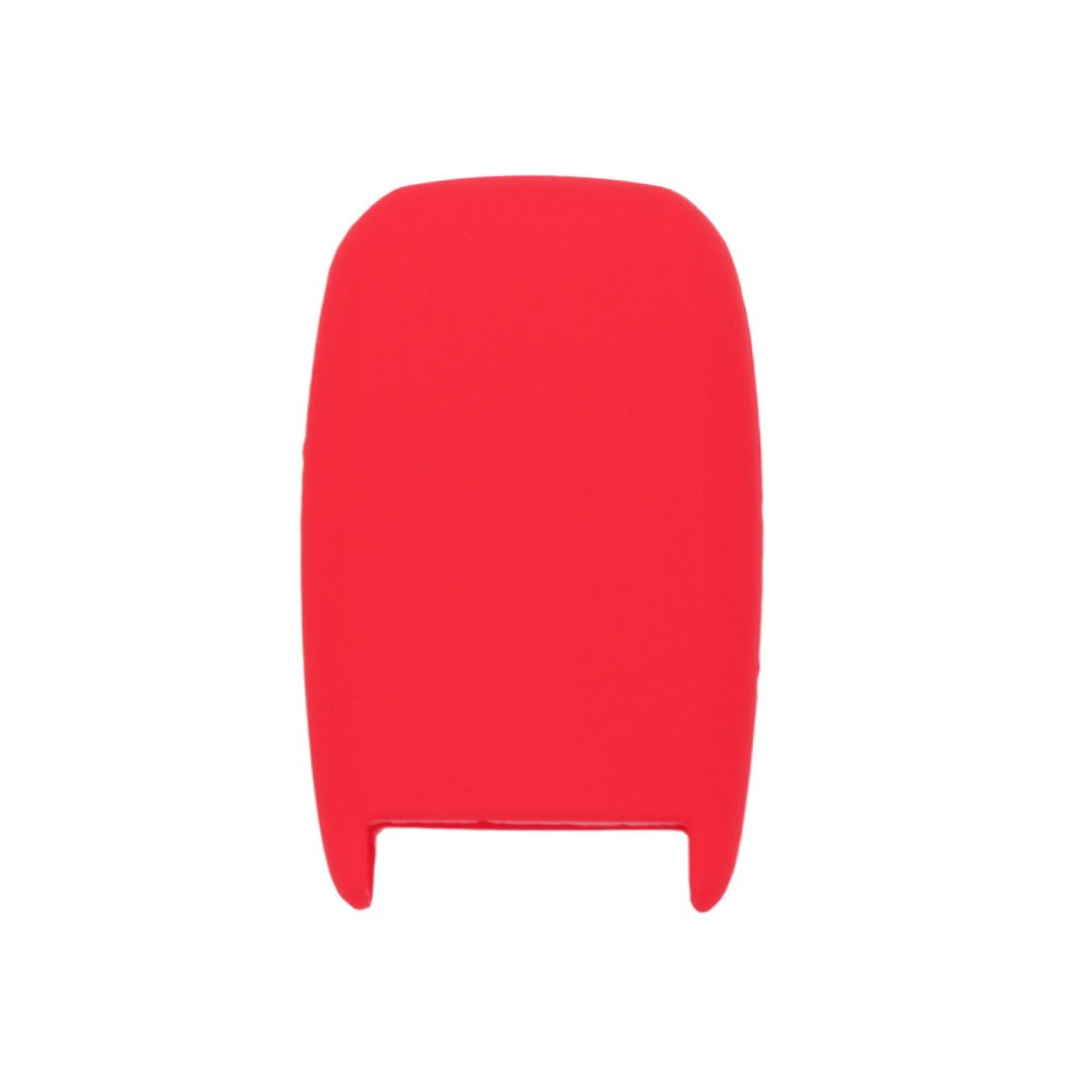 SEGADEN Silicone Cover Protector Case Skin Jacket fit for KIA 4 Button Smart Remote Key Fob CV4150 Red