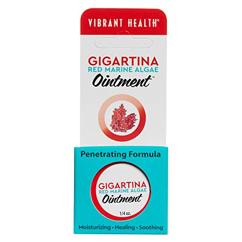 (Vibrant Health - Gigartina Red Marine Algae Ointment, Natural Support for Immune Function and Healing with RMA, Shea Butter, and Vitamin E, 1/4 (FFP))