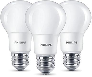 Philips LED Lampe ersetzt 60W, EEK A+, E27, warmweiß (2700K), 806 ...
