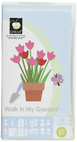 Cricut 29-0223 Walk in My Garden Shape Cartridge