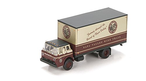 (Athearn HO Scale RTR Ford C Box Van Napa Valley Wine)