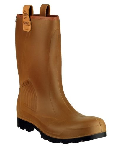 New Dunlop Herren C462743FL r-air gefüttert schlupfslip Wellington Schuhe Gents Welly Stiefel