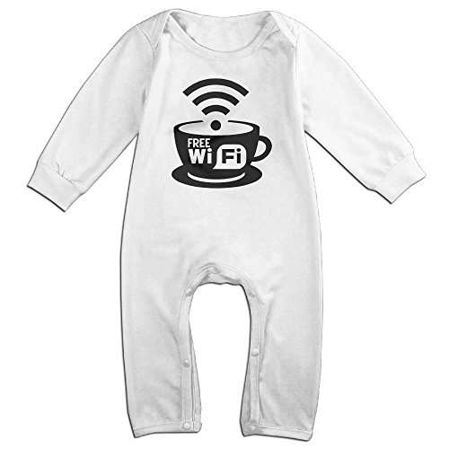 Price comparison product image nursling Long Sleeve Wifi Quote Infants Wear Jumpsuits