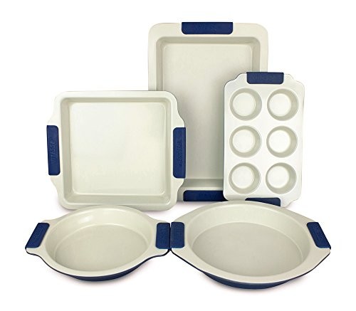 Vitesse 5-piece Bakeware Set, Nonstick Carbon Steel