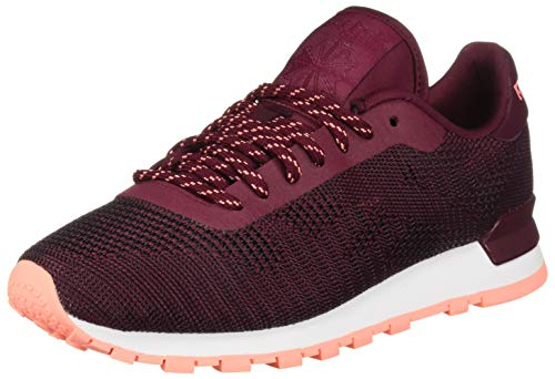 Reebok Women's Classic Leather Sneaker, Rustic Wine/Digital Pink