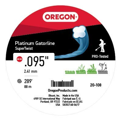 Amazon.com: Oregon 20 – 100 Platinum gatorline 1-Pound Donut ...